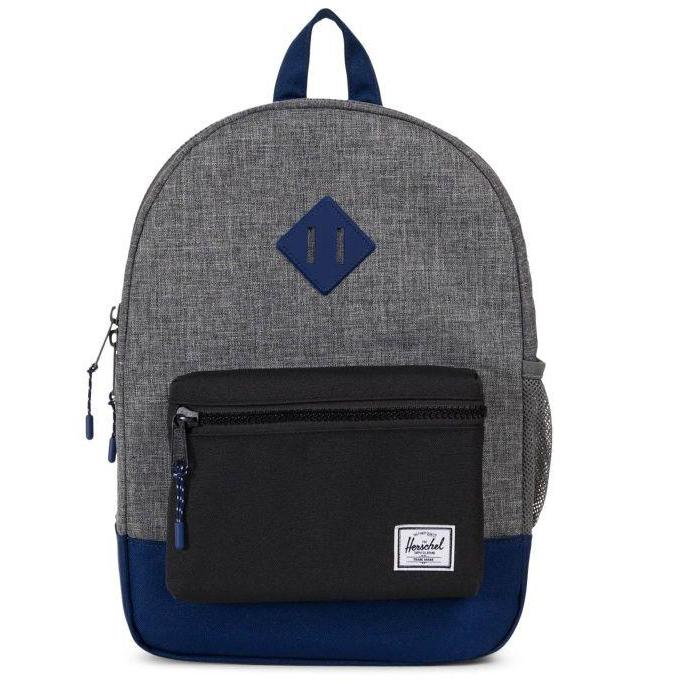 Herschel heritage youth backpack raven crosshatchblackblueprint herschel heritage youth backpack raven crosshatchblackblueprint rubber malvernweather Image collections