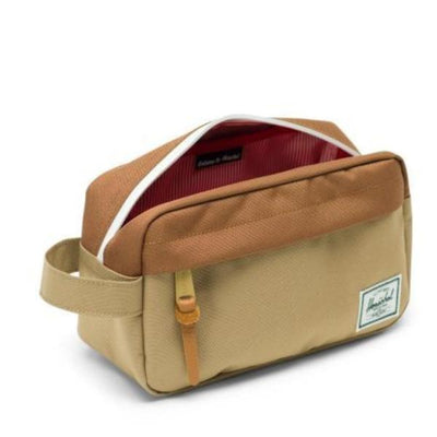 Herschel Chapter Travel Bag - Kelp/Saddle Brown