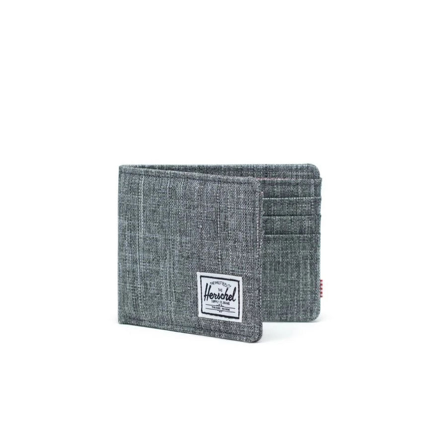 Herschel Roy Wallet -Raven Crosshatch/RFID