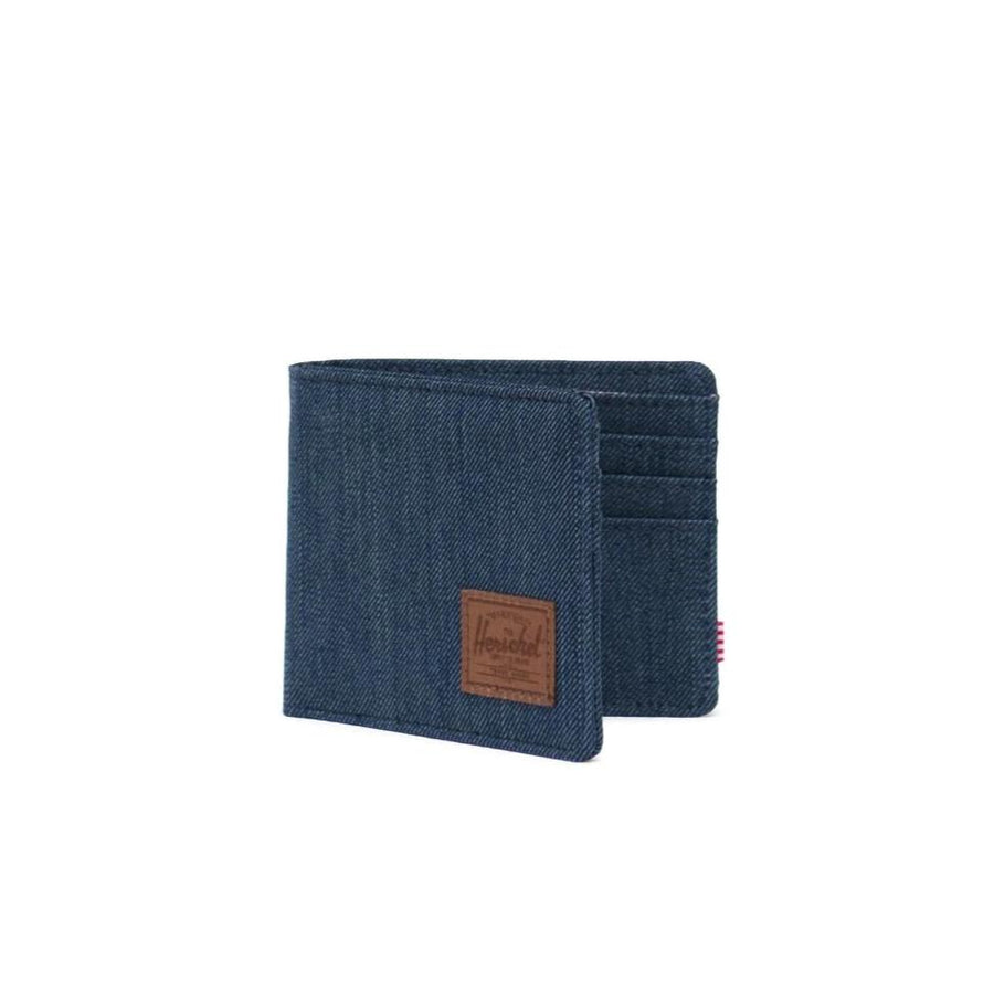 Herschel Roy Wallet - Indigo Denim/Saddle Brown