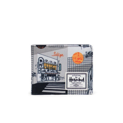 Herschel Roy Wallet - World Travel