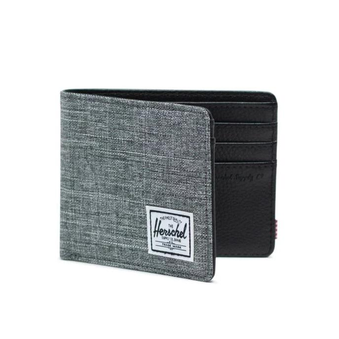Herschel Hank Wallet - Raven Crosshatch