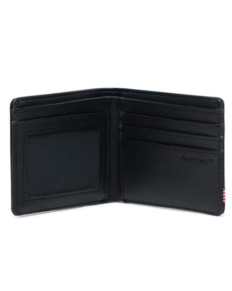 Herschel Hank Wallet - Black Pebbled Leather