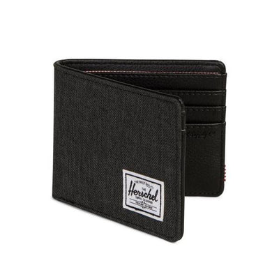 Herschel Hank Wallet - Black Crosshatch/Black