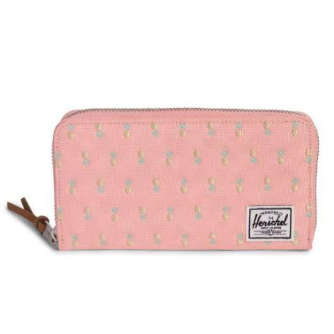 Herschel Thomas Wallet - Peach Pineapple/RFID - Embroidery Collection