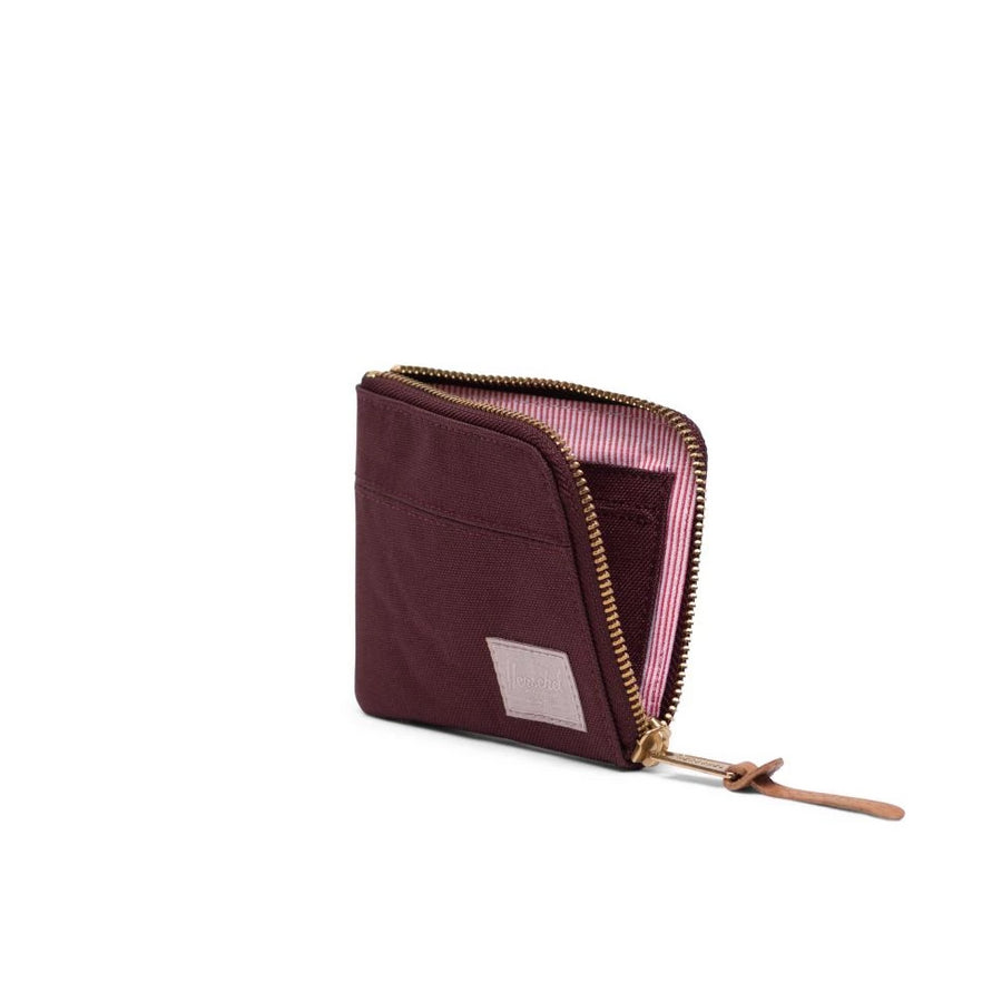 Herschel Johnny Wallet - Plum/Ash Rose