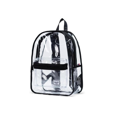 Herschel Backpack Classic Backpack Mid Volume - Black/Clear