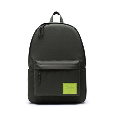 Herschel Classic Backpack XL - Dark Olive/Lime Green