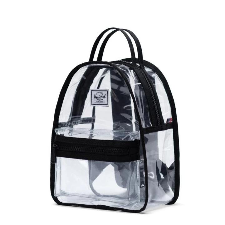 Herschel Backpack Nova Mini - Black/Clear