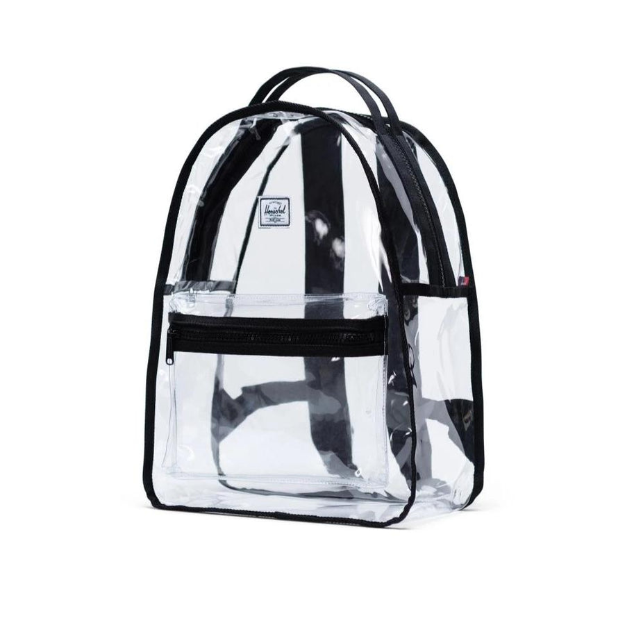 Herschel Backpack Nova Backpack Mid Volume - Black/Clear