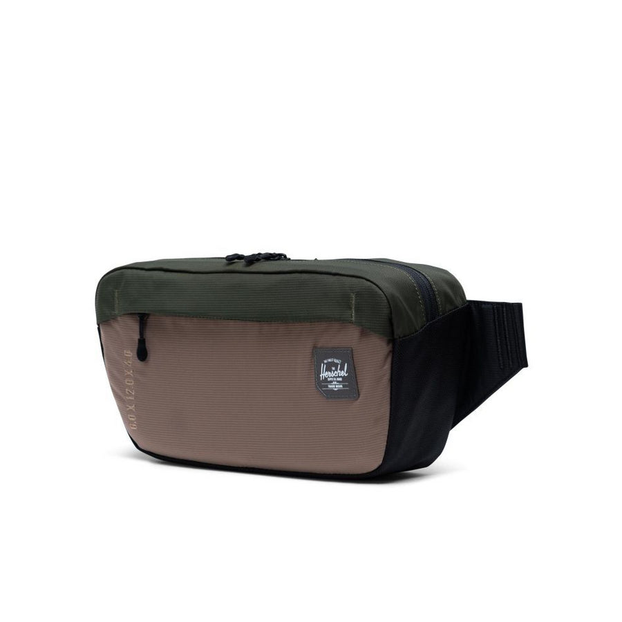 Herschel Tour Hip Pack Medium - Dark Olive Multi