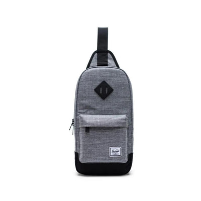 Herschel Heritage Shoulder Bag - Raven Crosshatch/Black