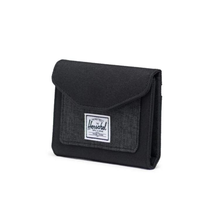 Herschel Orion Wallet - Black/Black Crosshatch