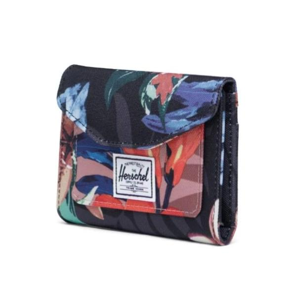 Herschel Orion Wallet - Summer Floral Black/Summer Floral Ash Rose