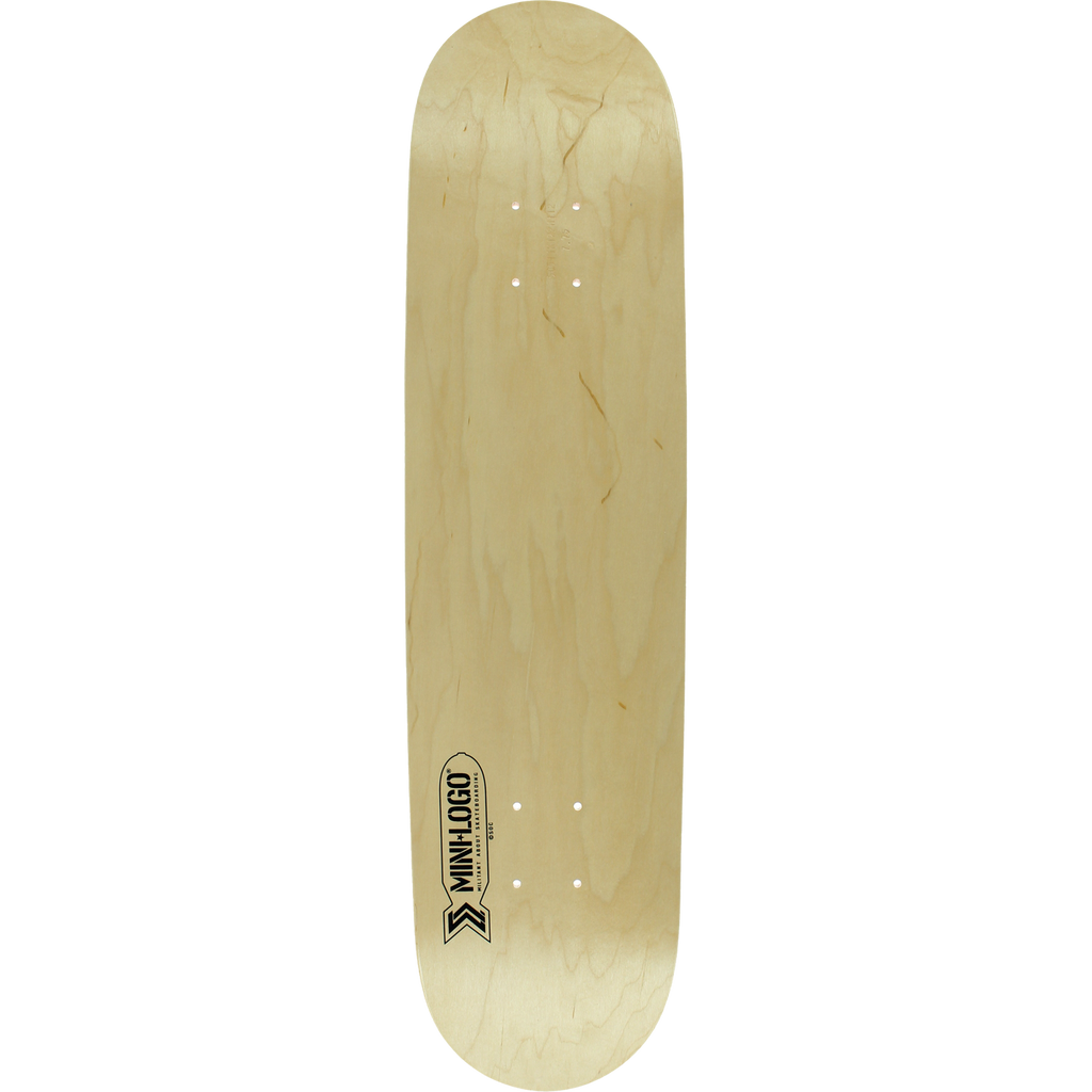 Mini Logo Small Bomb Natural Skateboard Deck - 8