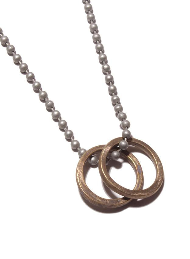 We Are All Smith Two Rings Necklace