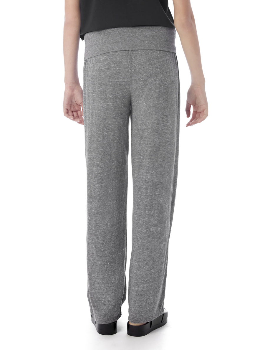Alternative Apparel Fold Over Eco-Jersey Pants - Grey