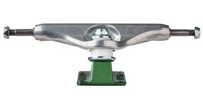 Independent Stage 11 Forged Hollow Chris Joslin Silver Green Standard Skateboard Trucks Independent - 139mm