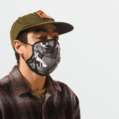 Volcom Face Mask - Black/White