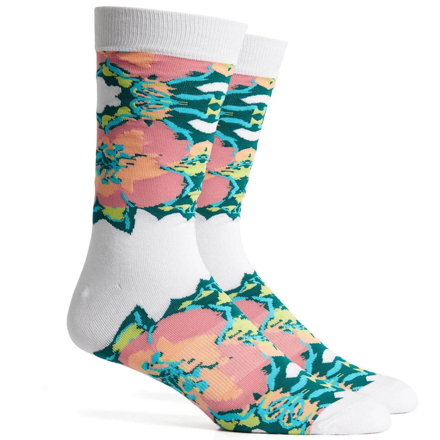 Richer Poorer Ella Socks - Bright White