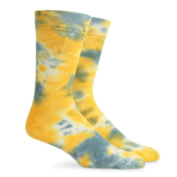 Richer Poorer Sherbet Socks - Sage Yellow