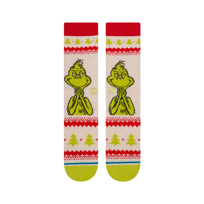 Stance X The Grinch - Grinch Sweater Socks