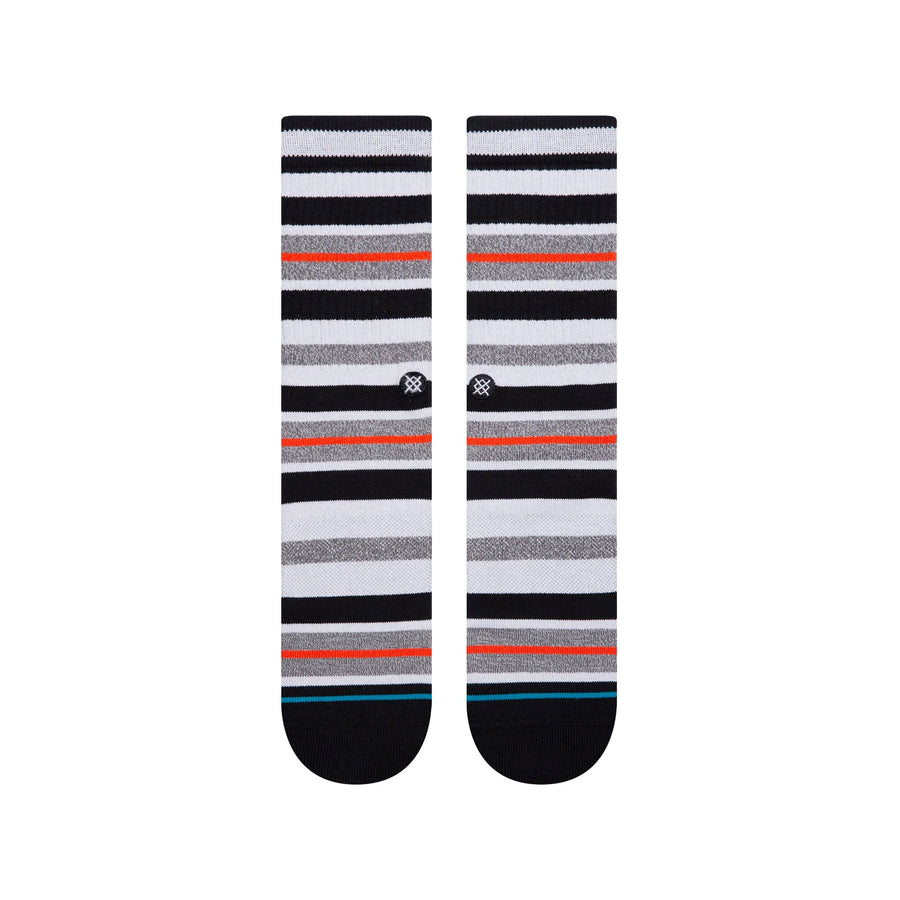 Stance Brock Mid Cushion Crew Socks - Black