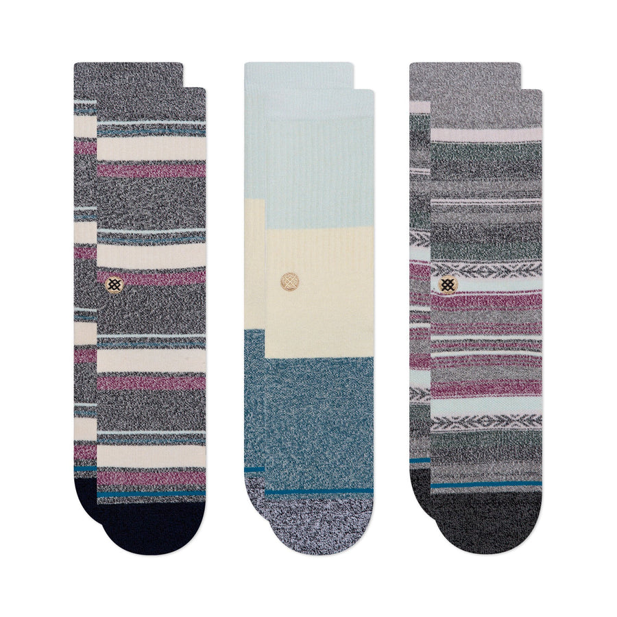 Stance Bu Bu Butterblend 3-Pack Socks - Multi