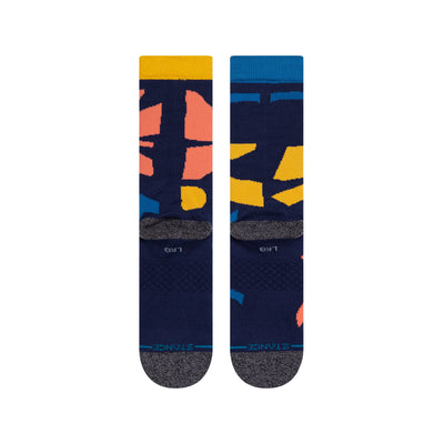Stance Archives Socks - Navy