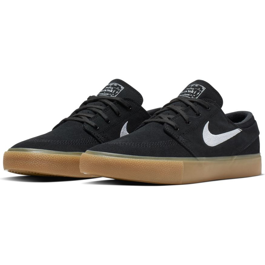 Nike SB Zoom Stefan Janoski RM - Black/White-Black-Gum Light Brown