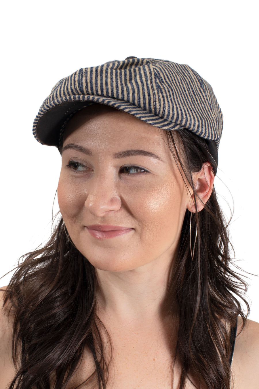 Brooklyn Hat Co. Newsie - Stripe Ivy