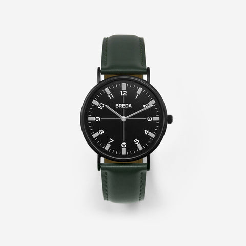 Breda Watch - Belmont - Black/Green (1646J)