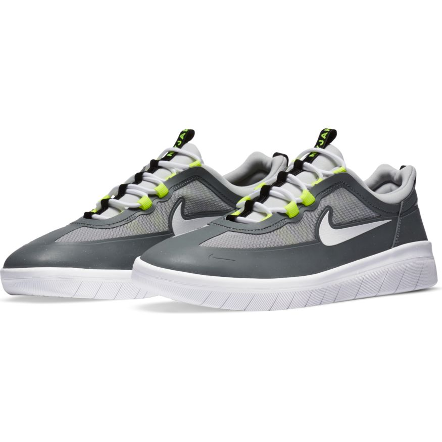 Nike SB Nyjah Free 2 - Smoke Grey/White-LT Smoke Grey
