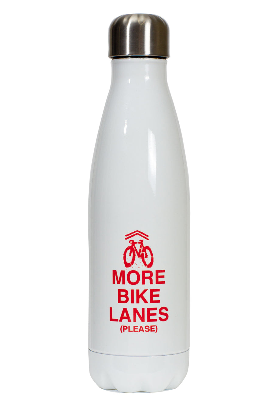 More Bike Lanes (Please) Water Bottle