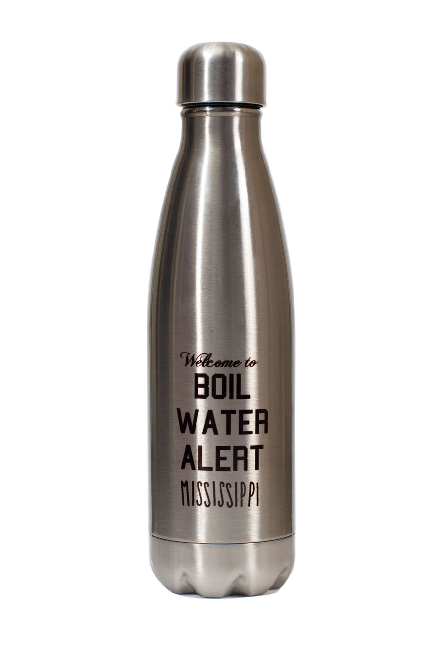 Welcome to Boil Water Alert Mississippi Water Bottle