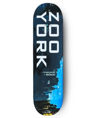Zoo York Bowery Skateboard Deck - 8