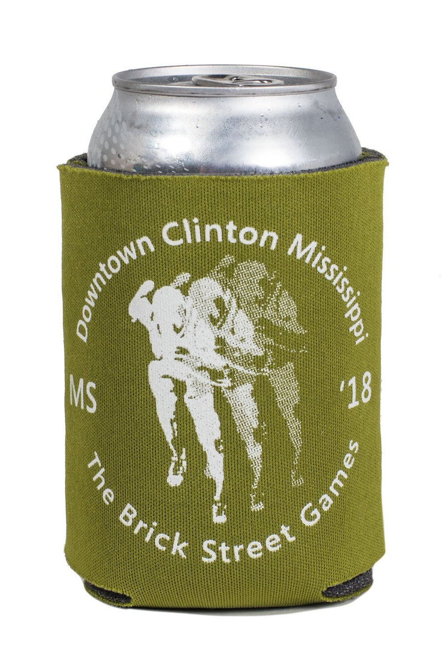 The Brick Street Games Koozie