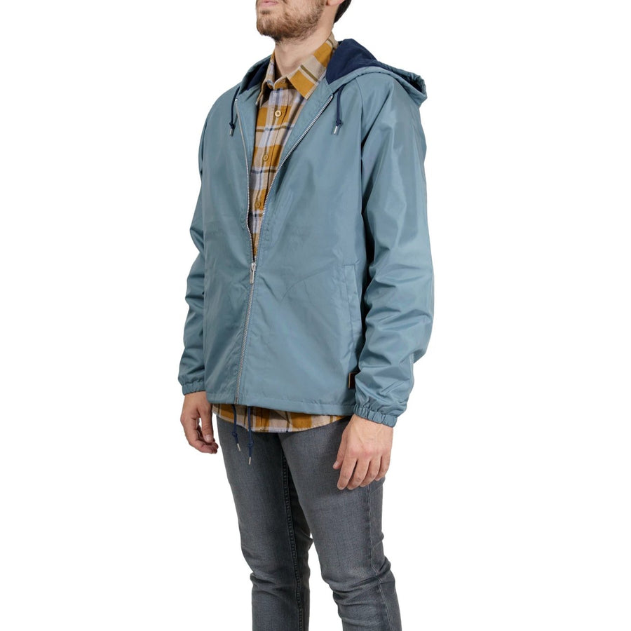Brixton Claxton Hooded Jacket - Blue Haze