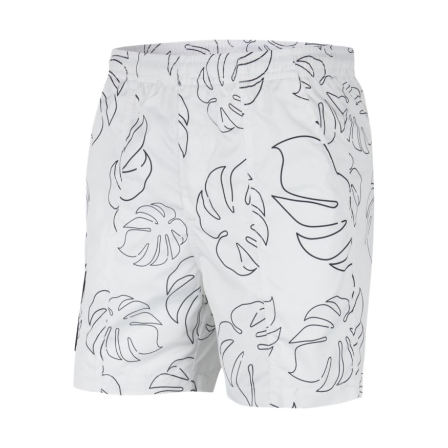Nike SB Men's Board Short - White/Black/Black