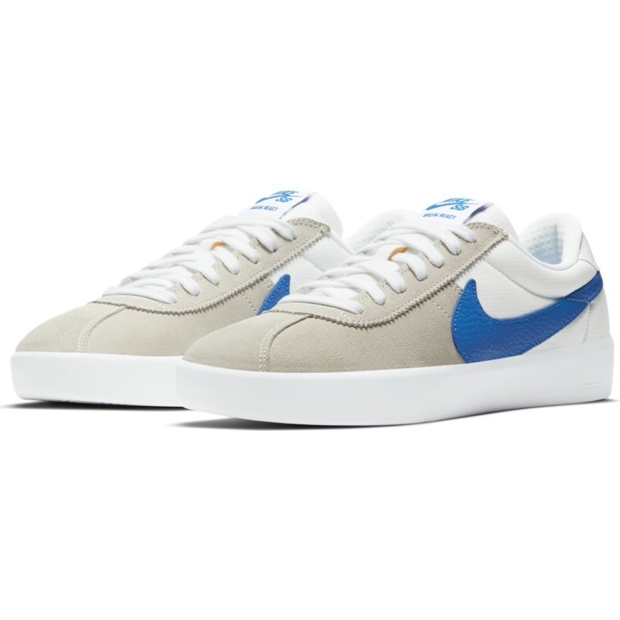 Nike SB Bruin React - Summit White/Signal Blue-Summit White