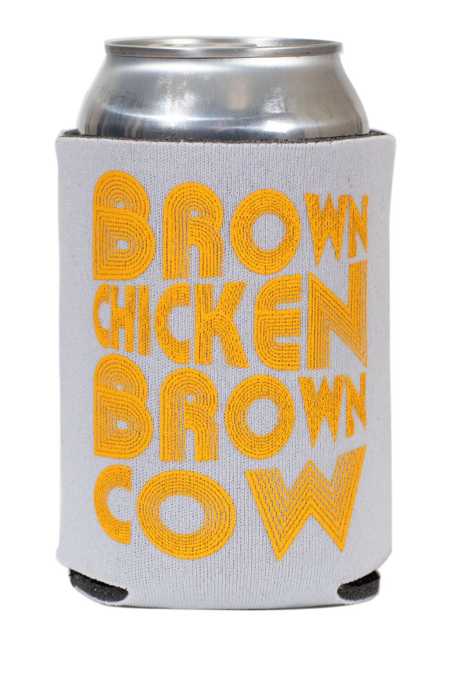 Brown Chicken Brown Cow Koozie