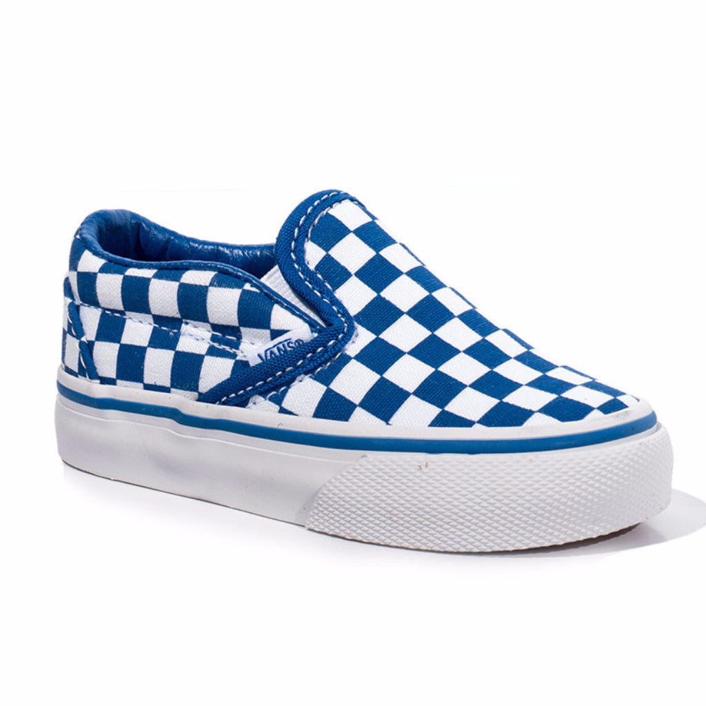 Vans Checkerboard Slip-on - Classic Blue