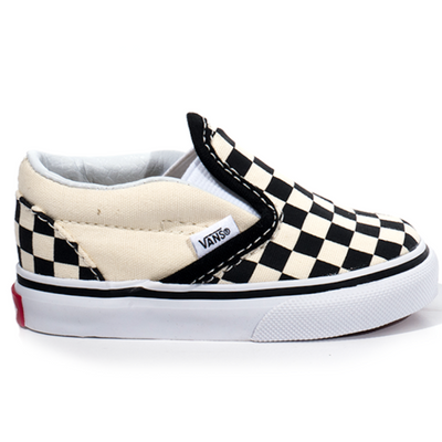 Vans Checkerboard Slip-on - Black/True White