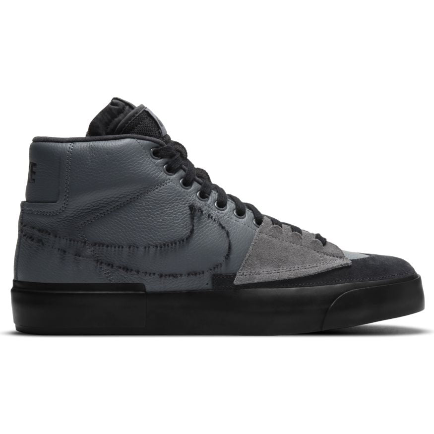 Nike SB Zoom Blazer Mid Edge - Iron Grey/Black-Black