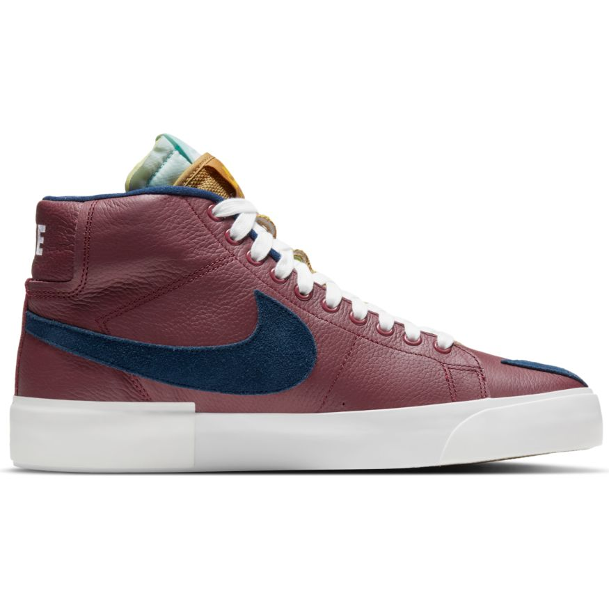Nike SB Zoom Blazer Mid Edge - Team Red/Navy-Light Dew-Summit White