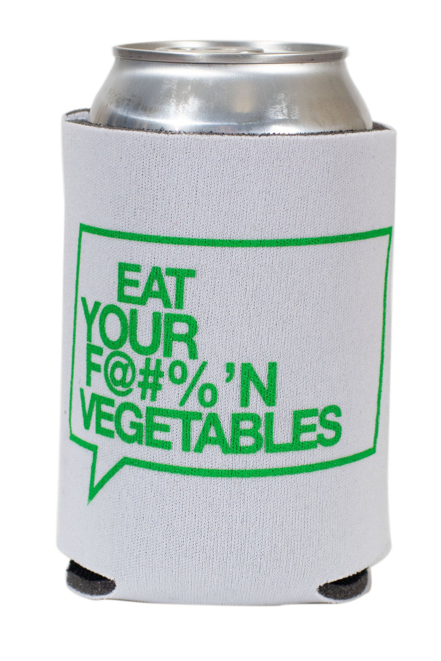 Eat Your F@#%'N Vegetables Koozie