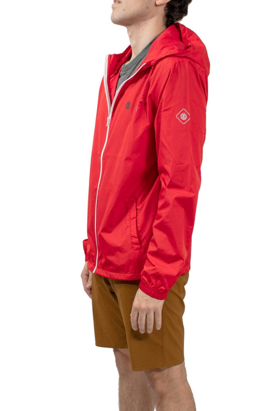 Element Alder Travel Well Jacket - Pompeian Red