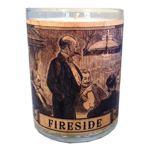 Spitfire Girl Candle - Fireside