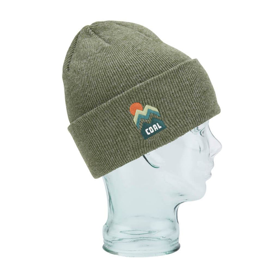 0397be2c66f8c Coal Headwear Donner Beanie - Olive