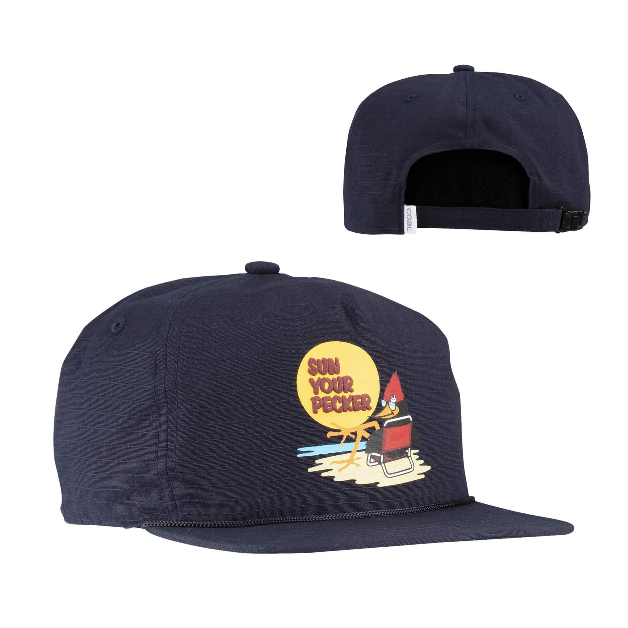 Coal Headwear The Field Mid Crown Hat - Navy